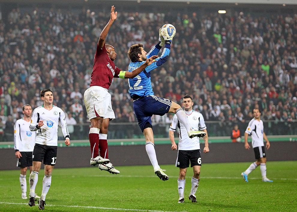 Legia Warszawa 3-1 Rapid Bukareszt - fot. Piotr Galas (zdjęcie 73 z 94)