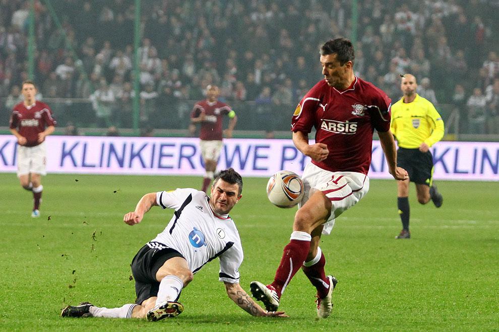 Legia Warszawa 3-1 Rapid Bukareszt - fot. Piotr Galas (zdjęcie 74 z 94)