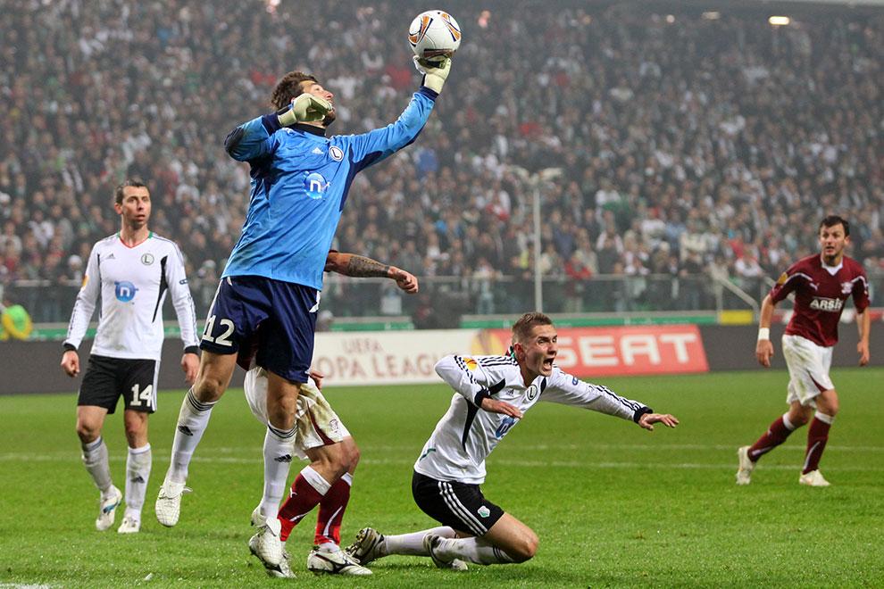 Legia Warszawa 3-1 Rapid Bukareszt - fot. Piotr Galas (zdjęcie 75 z 94)