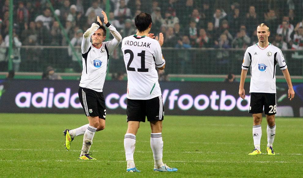 Legia Warszawa 3-1 Rapid Bukareszt - fot. Piotr Galas (zdjęcie 76 z 94)