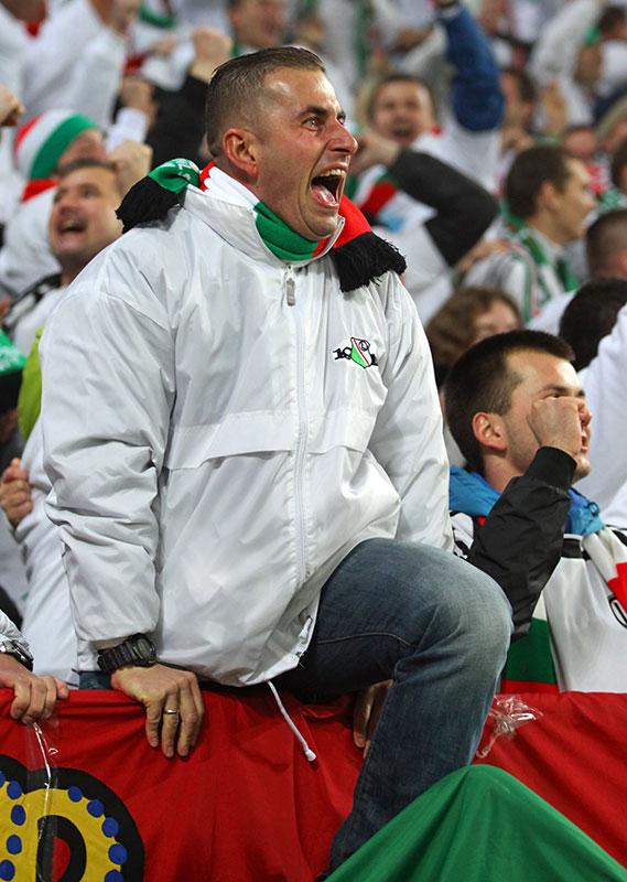 Legia Warszawa 3-1 Rapid Bukareszt - fot. Piotr Galas (zdjęcie 77 z 94)