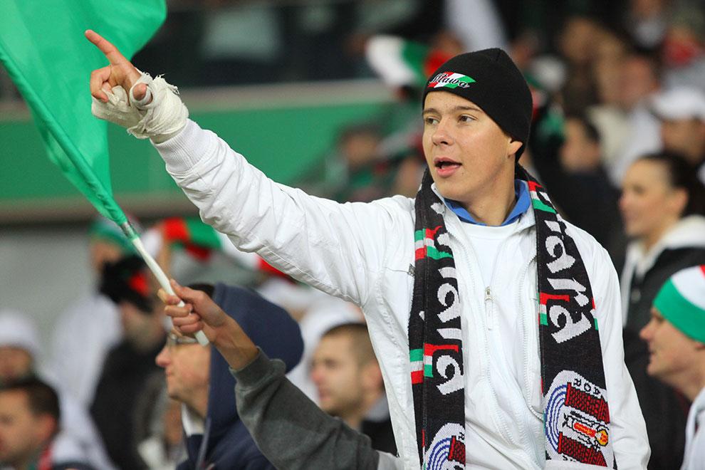 Legia Warszawa 3-1 Rapid Bukareszt - fot. Piotr Galas (zdjęcie 80 z 94)