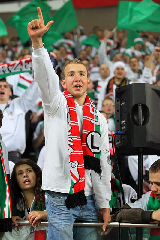 Legia Warszawa 3-1 Rapid Bukareszt - fot. Piotr Galas (zdjęcie 82 z 94)