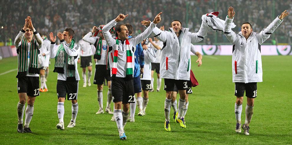 Legia Warszawa 3-1 Rapid Bukareszt - fot. Piotr Galas (zdjęcie 85 z 94)