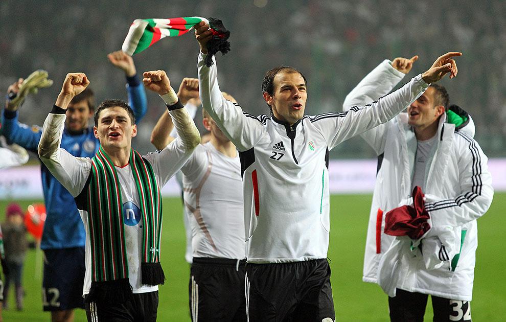 Legia Warszawa 3-1 Rapid Bukareszt - fot. Piotr Galas (zdjęcie 86 z 94)