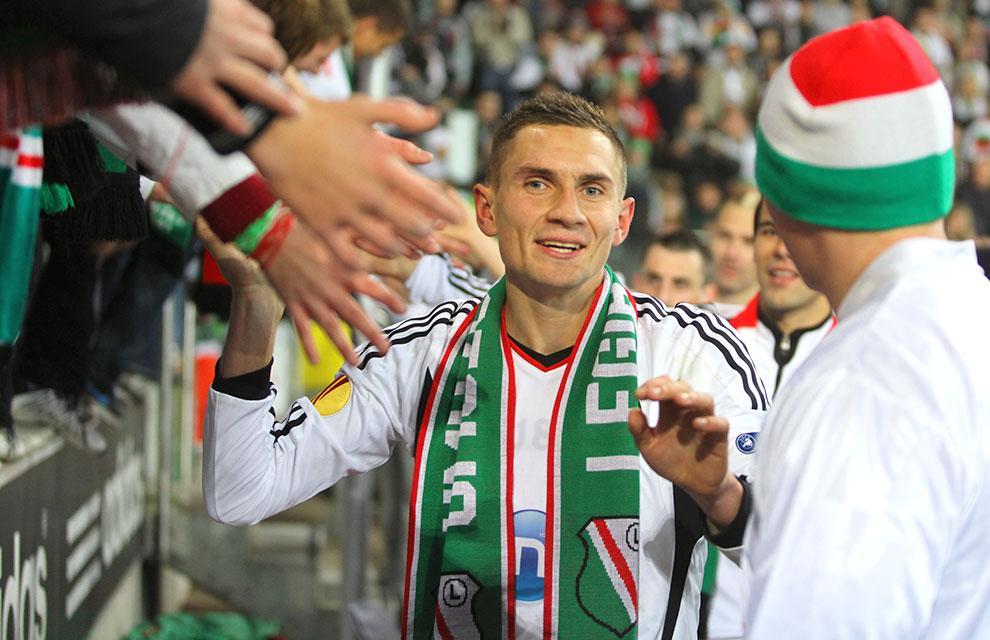 Legia Warszawa 3-1 Rapid Bukareszt - fot. Piotr Galas (zdjęcie 89 z 94)