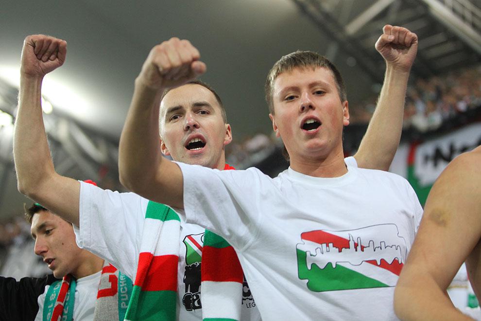 Legia Warszawa 3-1 Rapid Bukareszt - fot. Piotr Galas (zdjęcie 92 z 94)
