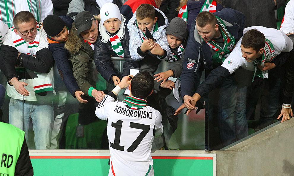 Legia Warszawa 3-1 Rapid Bukareszt - fot. Piotr Galas (zdjęcie 94 z 94)