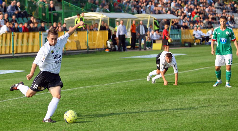 Rozwój II Katowice 1-4 Legia Warszawa - fot. Piotr Galas (zdjęcie 11 z 43)