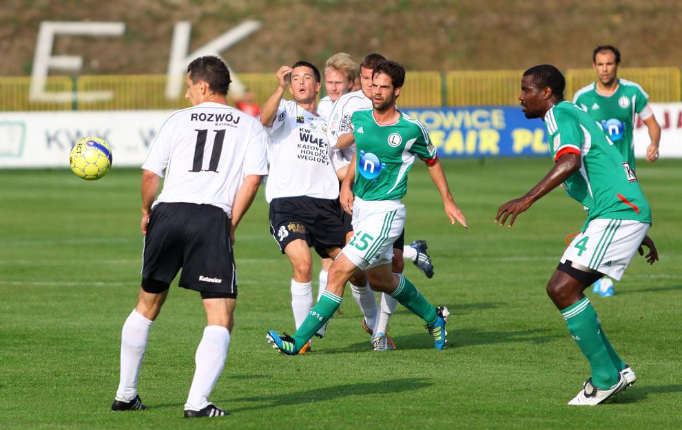 Rozwój II Katowice 1-4 Legia Warszawa - fot. Piotr Galas (zdjęcie 13 z 43)