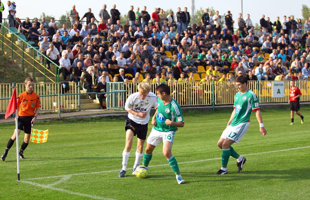 Rozwój II Katowice 1-4 Legia Warszawa - fot. Piotr Galas (zdjęcie 16 z 43)
