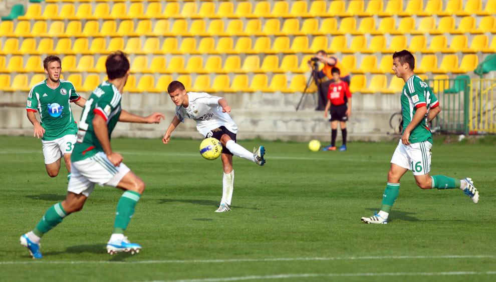 Rozwój II Katowice 1-4 Legia Warszawa - fot. Piotr Galas (zdjęcie 19 z 43)