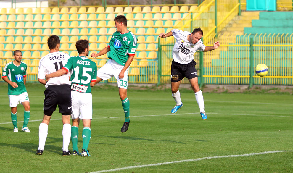 Rozwój II Katowice 1-4 Legia Warszawa - fot. Piotr Galas (zdjęcie 21 z 43)