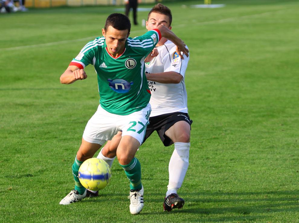 Rozwój II Katowice 1-4 Legia Warszawa - fot. Piotr Galas (zdjęcie 33 z 43)