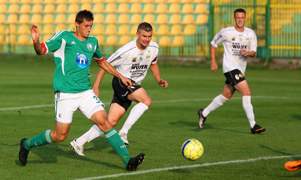 Rozwój II Katowice 1-4 Legia Warszawa - fot. Piotr Galas (zdjęcie 34 z 43)