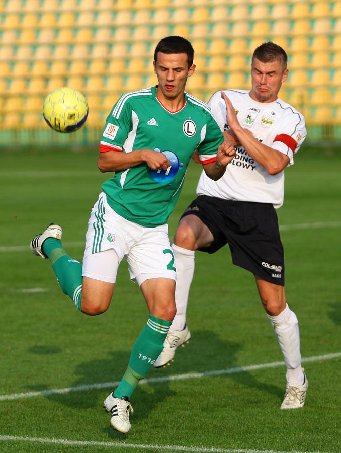 Rozwój II Katowice 1-4 Legia Warszawa - fot. Piotr Galas (zdjęcie 35 z 43)