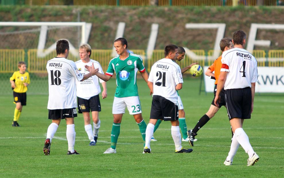 Rozwój II Katowice 1-4 Legia Warszawa - fot. Piotr Galas (zdjęcie 42 z 43)