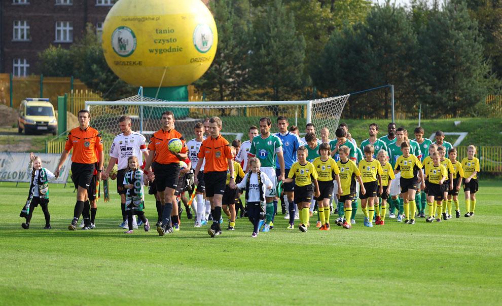 Rozwój II Katowice 1-4 Legia Warszawa - fot. Piotr Galas (zdjęcie 5 z 43)