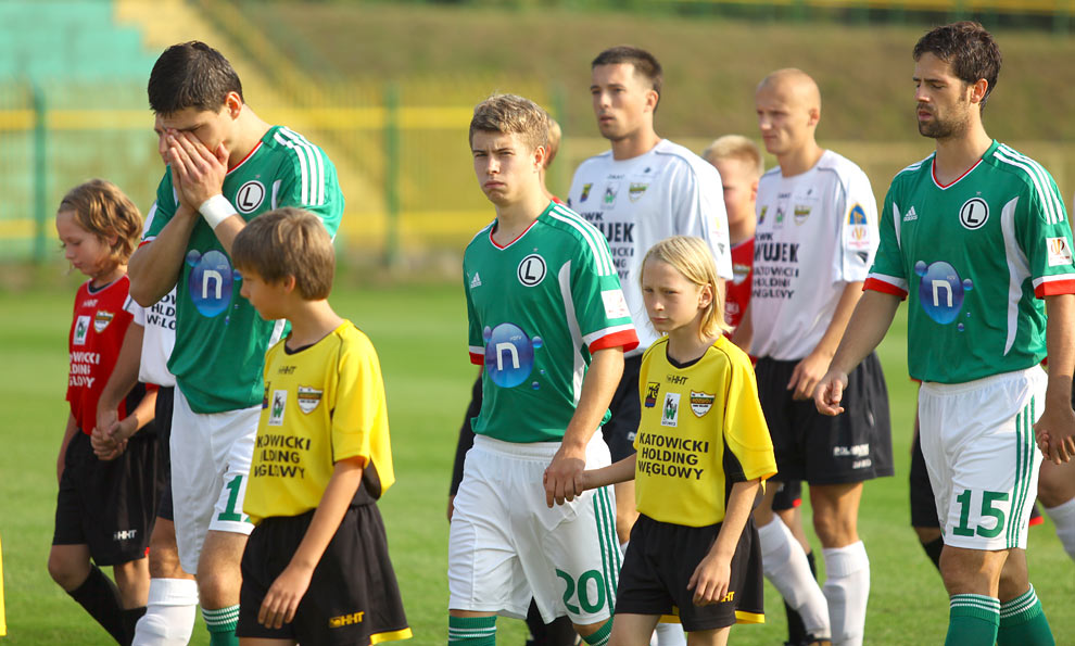 Rozwój II Katowice 1-4 Legia Warszawa - fot. Piotr Galas (zdjęcie 6 z 43)