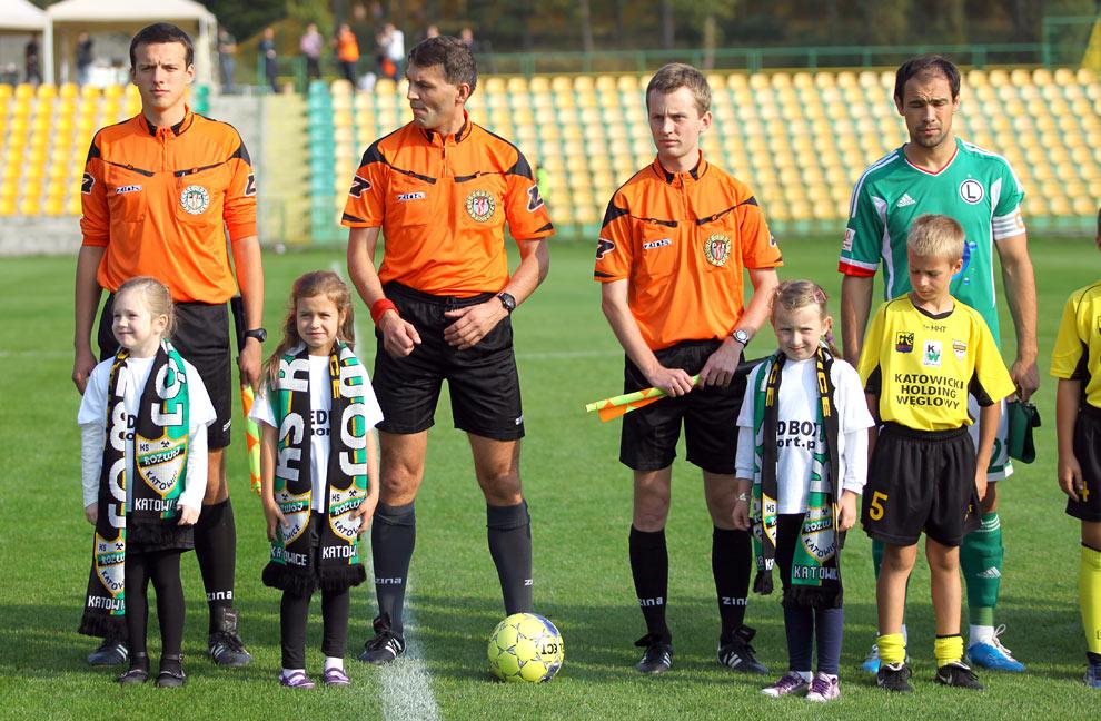Rozwój II Katowice 1-4 Legia Warszawa - fot. Piotr Galas (zdjęcie 7 z 43)