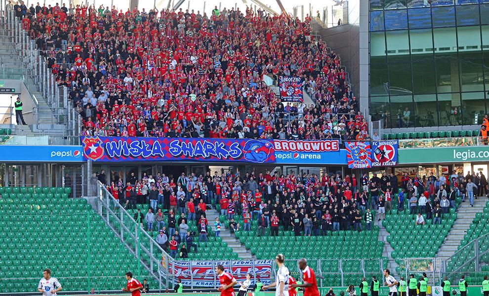 Legia Warszawa 2-0 Wisła Kraków - fot. Piotr Galas (zdjęcie 24 z 79)
