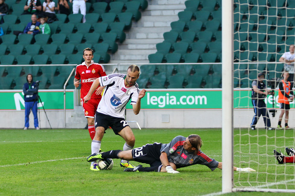 Legia Warszawa 2-0 Wisła Kraków - fot. Piotr Galas (zdjęcie 32 z 79)