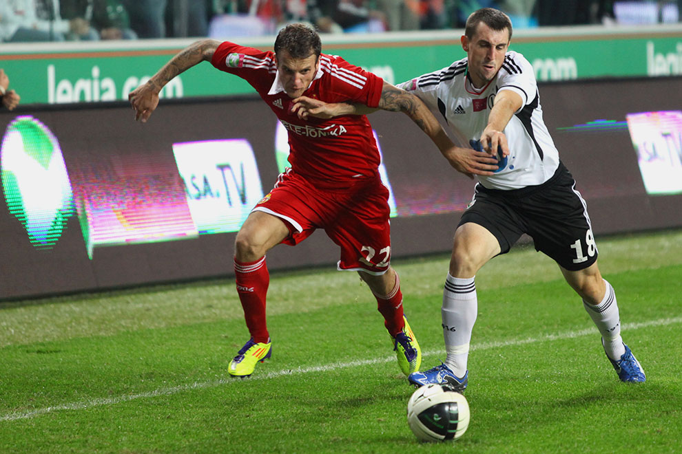 Legia Warszawa 2-0 Wisła Kraków - fot. Piotr Galas (zdjęcie 63 z 79)