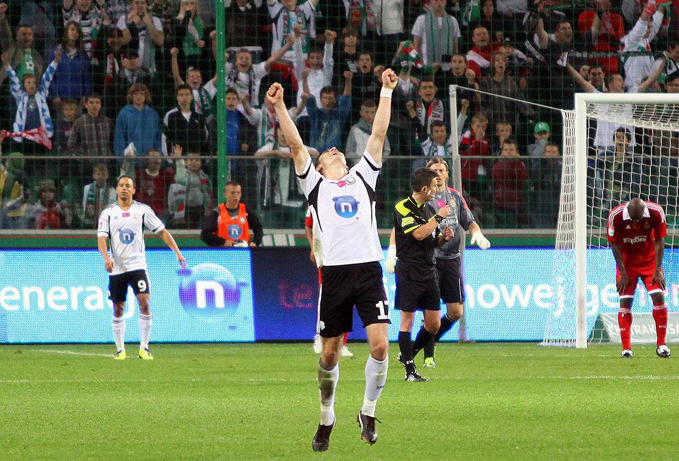 Legia Warszawa 2-0 Wisła Kraków - fot. Piotr Galas (zdjęcie 68 z 79)