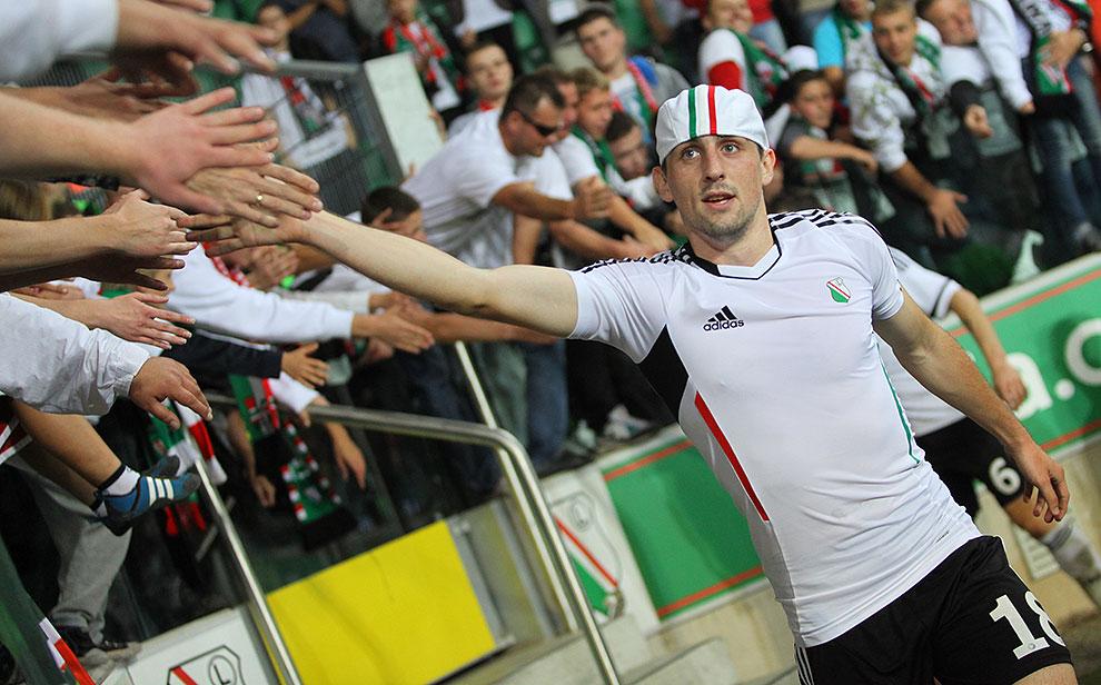 Legia Warszawa 2-0 Wisła Kraków - fot. Piotr Galas (zdjęcie 77 z 79)