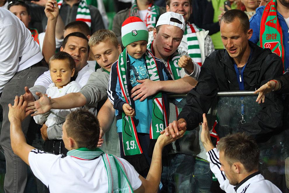 Legia Warszawa 2-0 Wisła Kraków - fot. Piotr Galas (zdjęcie 78 z 79)