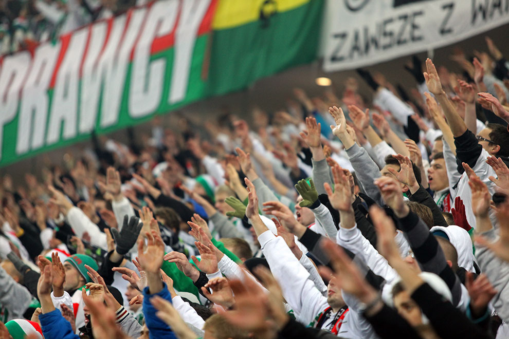 Legia Warszawa 3-0 Zagłębie Lubin - fot. Piotr Galas (zdjęcie 28 z 41)