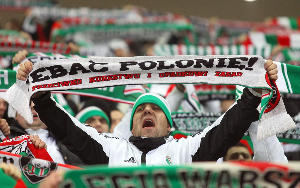 Legia Warszawa 3-0 Zagłębie Lubin - fot. Piotr Galas (zdjęcie 30 z 41)