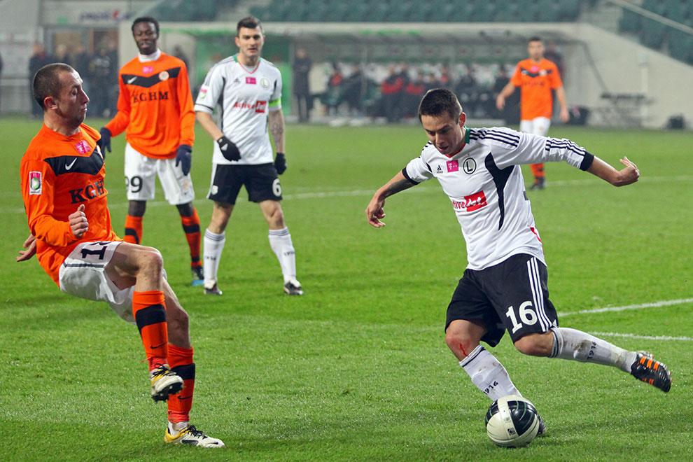 Legia Warszawa 3-0 Zagłębie Lubin - fot. Piotr Galas (zdjęcie 35 z 41)