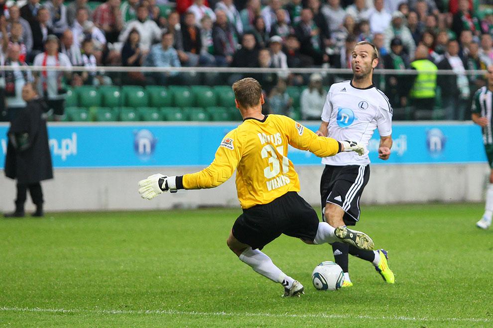 Legia Warszawa 2-0 Żalgiris Wilno - fot. Piotr Galas (zdjęcie 3 z 27)