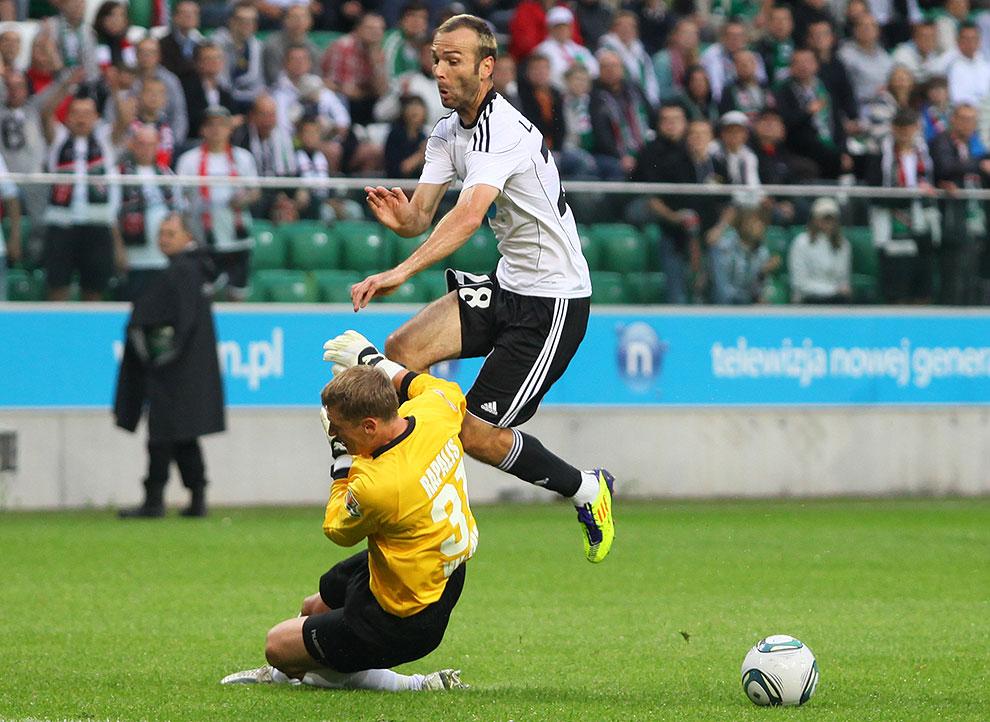 Legia Warszawa 2-0 Żalgiris Wilno - fot. Piotr Galas (zdjęcie 4 z 27)