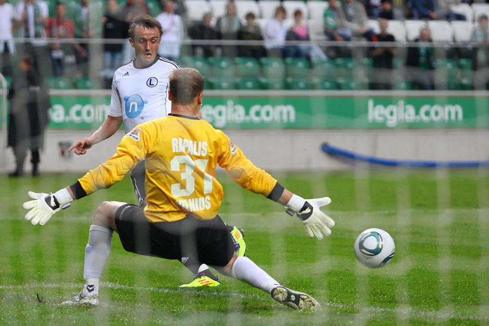 Legia Warszawa 2-0 Żalgiris Wilno - fot. Piotr Galas (zdjęcie 7 z 27)