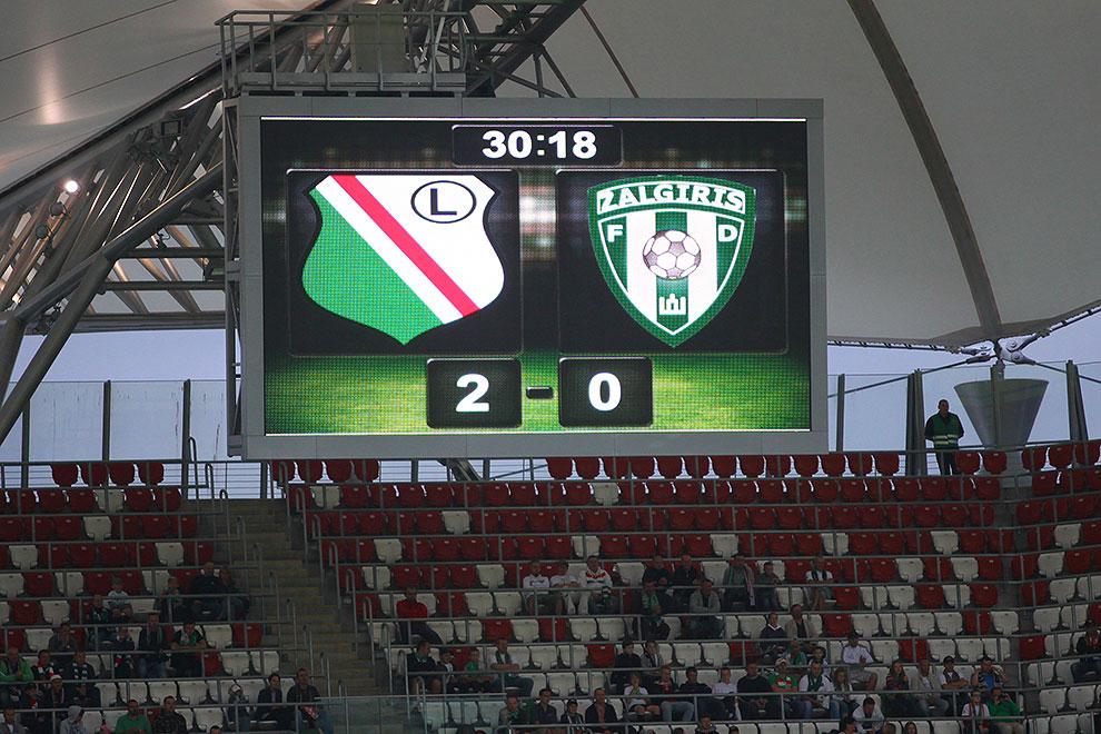 Legia Warszawa 2-0 Żalgiris Wilno - fot. Piotr Galas (zdjęcie 9 z 27)