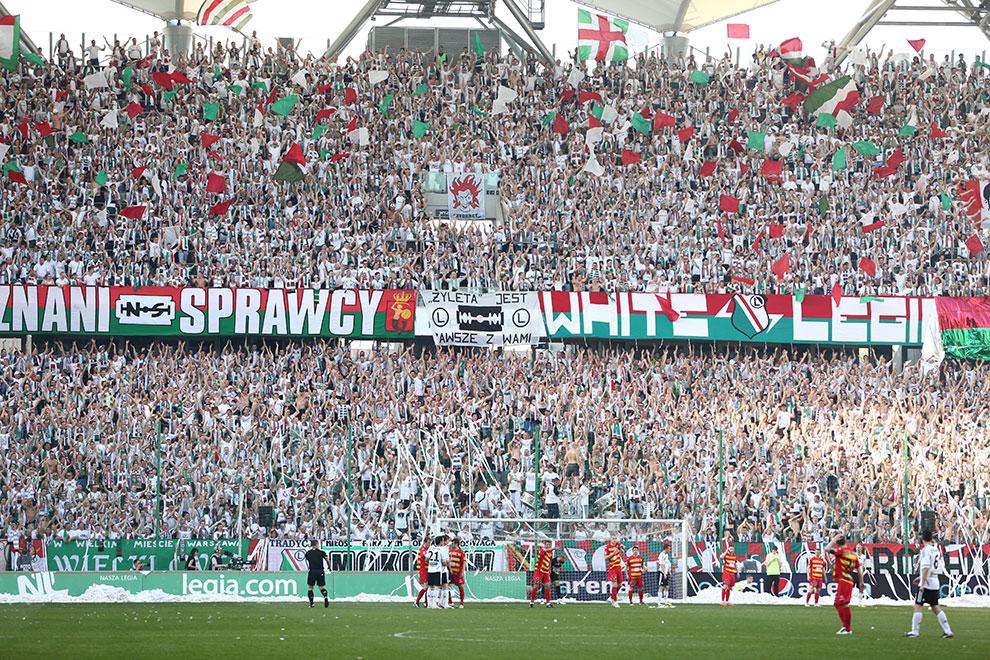 Legia Warszawa 1-1 Jagiellonia Białystok - fot. Piotr Galas (zdjęcie 12 z 94)