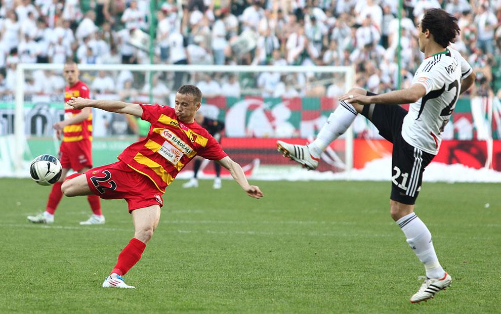 Legia Warszawa 1-1 Jagiellonia Białystok - fot. Piotr Galas (zdjęcie 14 z 94)
