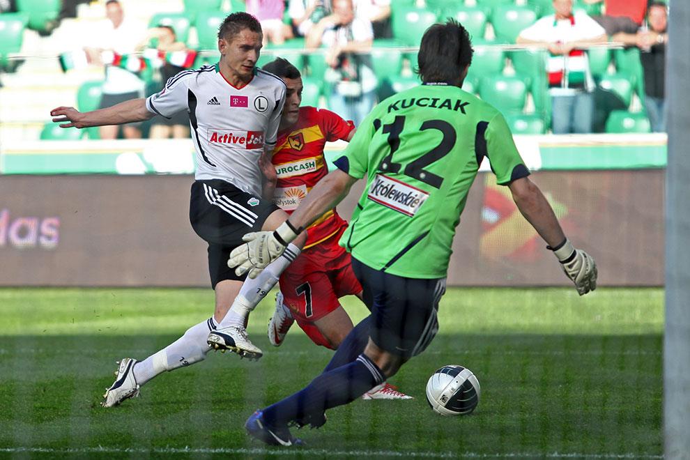 Legia Warszawa 1-1 Jagiellonia Białystok - fot. Piotr Galas (zdjęcie 17 z 94)