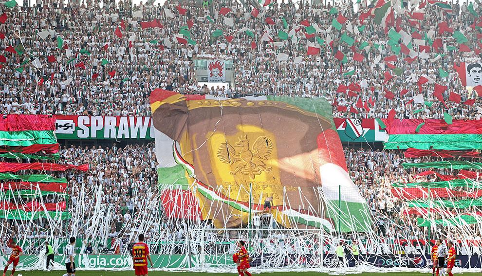 Legia Warszawa 1-1 Jagiellonia Białystok - fot. Piotr Galas (zdjęcie 2 z 94)