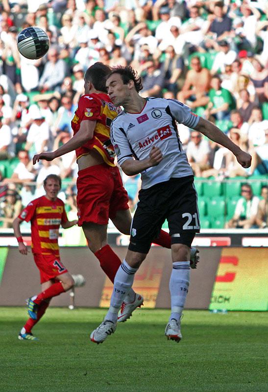 Legia Warszawa 1-1 Jagiellonia Białystok - fot. Piotr Galas (zdjęcie 24 z 94)