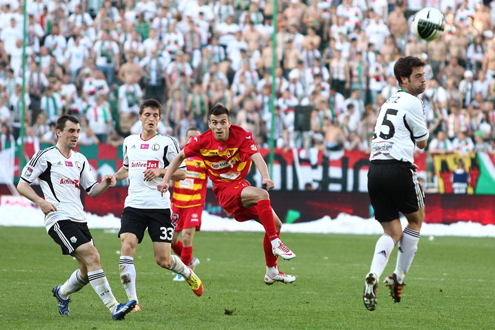 Legia Warszawa 1-1 Jagiellonia Białystok - fot. Piotr Galas (zdjęcie 26 z 94)
