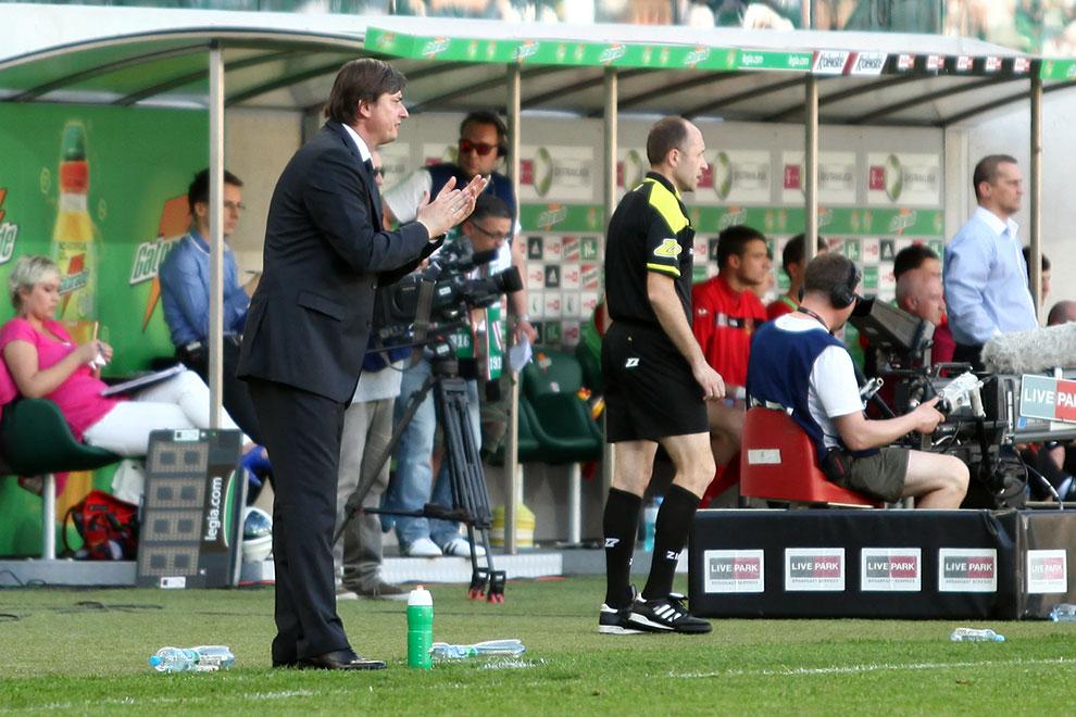 Legia Warszawa 1-1 Jagiellonia Białystok - fot. Piotr Galas (zdjęcie 27 z 94)
