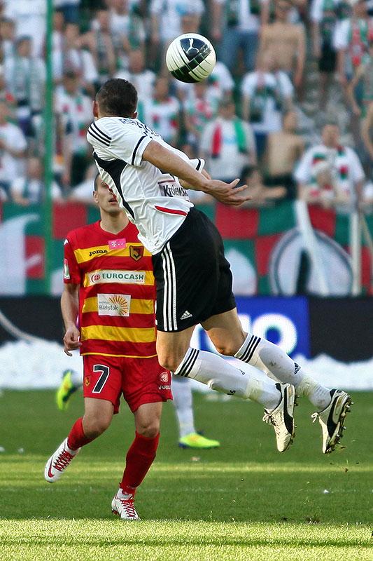 Legia Warszawa 1-1 Jagiellonia Białystok - fot. Piotr Galas (zdjęcie 29 z 94)