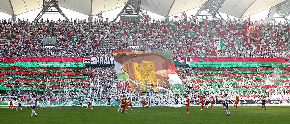 Legia Warszawa 1-1 Jagiellonia Białystok - fot. Piotr Galas (zdjęcie 3 z 94)