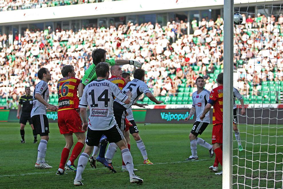 Legia Warszawa 1-1 Jagiellonia Białystok - fot. Piotr Galas (zdjęcie 30 z 94)