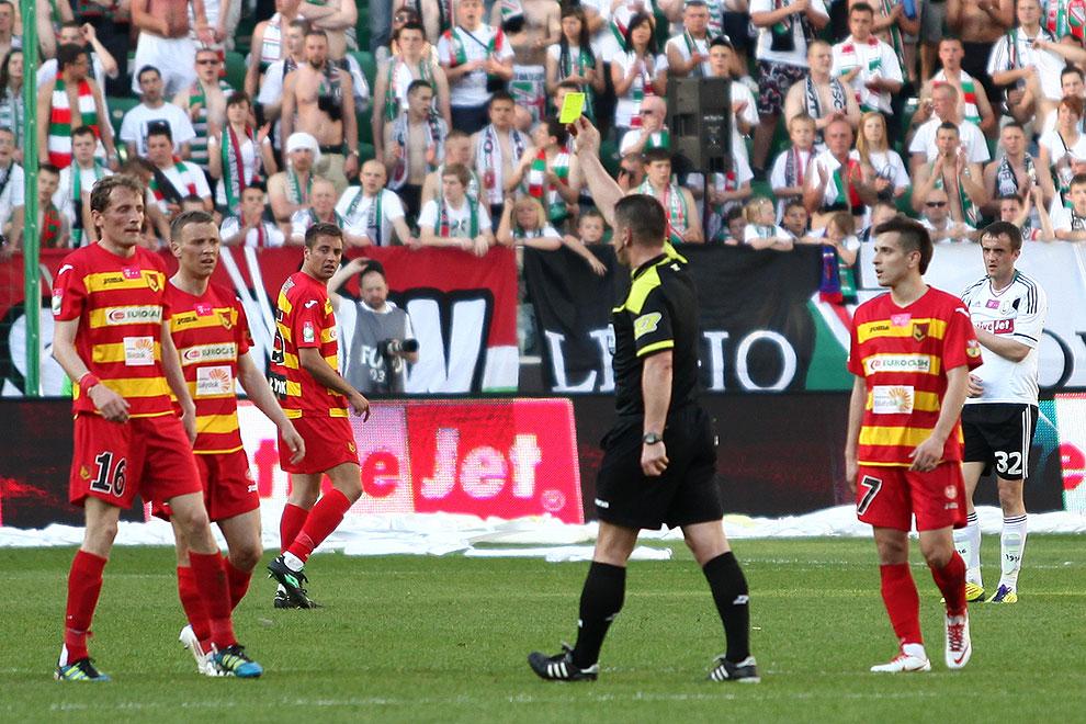 Legia Warszawa 1-1 Jagiellonia Białystok - fot. Piotr Galas (zdjęcie 32 z 94)