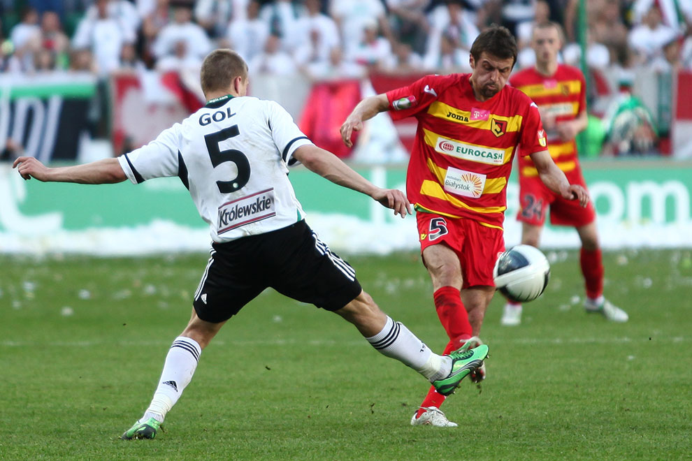 Legia Warszawa 1-1 Jagiellonia Białystok - fot. Piotr Galas (zdjęcie 33 z 94)