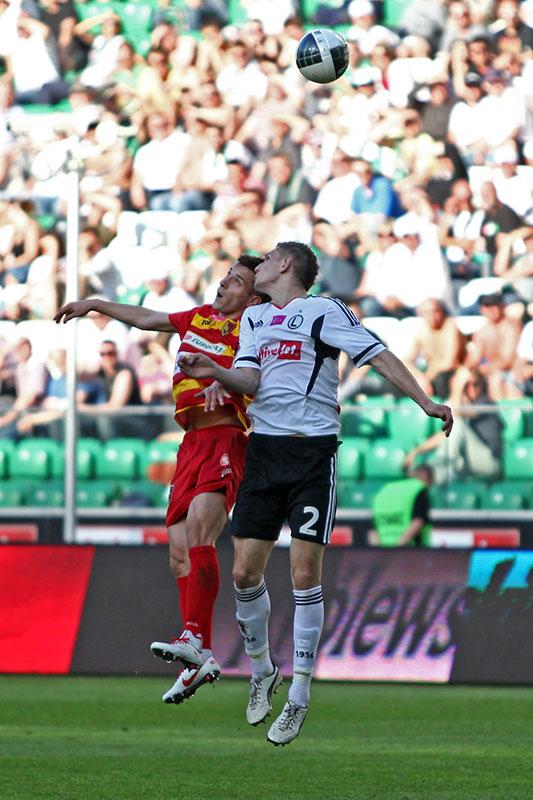 Legia Warszawa 1-1 Jagiellonia Białystok - fot. Piotr Galas (zdjęcie 34 z 94)